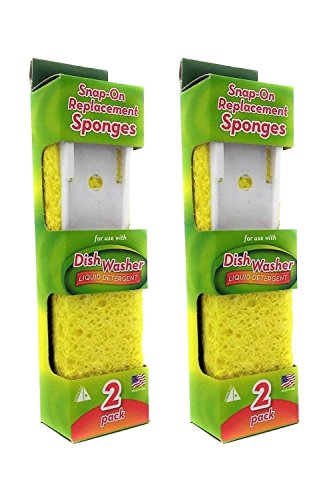 (Arrow Refill Sponge #00008 - 2 Packs Of 2 Count = 4 Count)