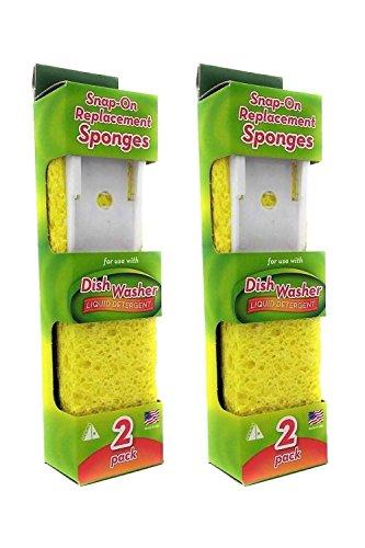 Arrow Refill Sponge #00008 - 2 Packs Of 2 Count = 4 Count