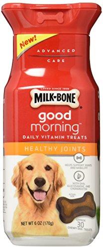 Milk-Bone Good Morning Daily Vitamin Dog Treats, Healthy Joi