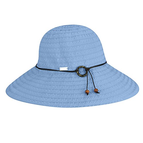 (Betmar Women's Coconut Ring Safari Sun Hat, Periwinkle, One Size)