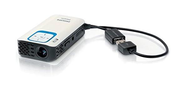 Philips PicoPix PPX2340/INT Video - Proyector (40 lúmenes ANSI ...