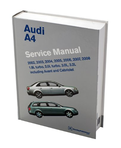 audi a4 b6 b7 service manual 2002 2003 2004 2005 2006 2007 rh amazon co uk manual audi a4 b6 pdf manual audi a4 b6 2003