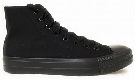 Madigan Magic Total Black Tipo Converse all Star in Tela: Amazon