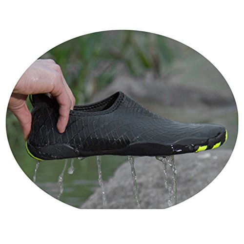 Mens Black1 Unisex Beach Wading Bathing Adults Ultralight Shoes BARKOR Womens Shoes Sea Water HqEURR