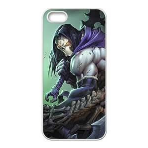 iPhone 5,5S Phone Case White Darksiders ZIC459390