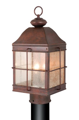 Vaxcel Revere Royal Bronze 20.5 in. Outdoor Post Light For Sale