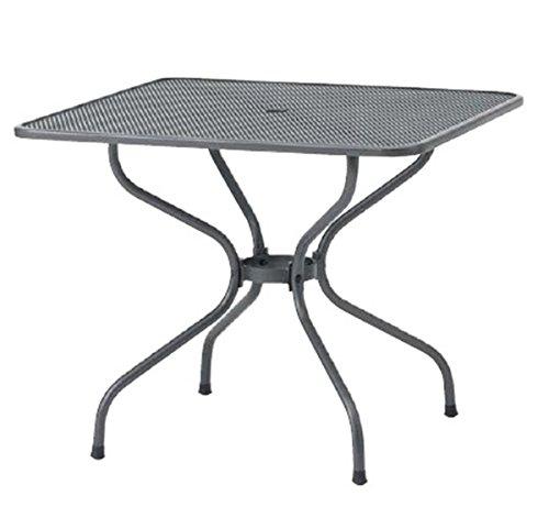 タカショー メタル スクエアテーブル 900 SSN-T01 『ガーデンテーブル』 B00KYRR0CU