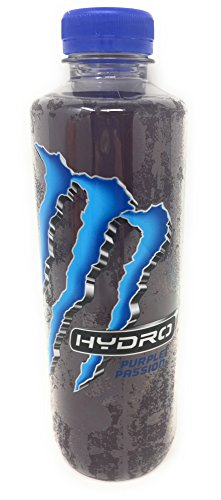 Monster Energy Hydro Sports Drink, 25.4 ounce (Pack of 6) (Purple Passion)