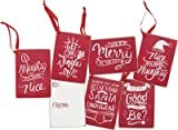 Gift Tags - Christmas Styles, Set of 12