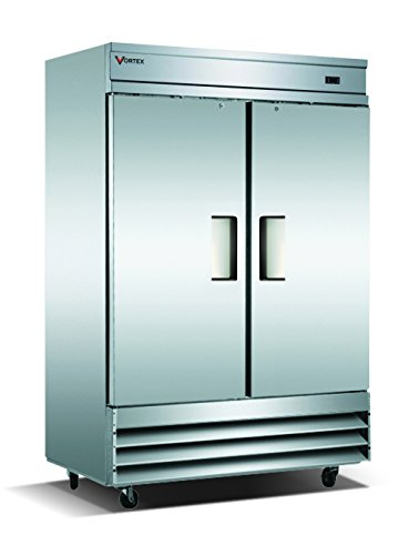Equipment Refrigeration Commercial (Vortex Refrigeration Commercial 2 Solid Door Freezer - 49 Cu. Ft.)