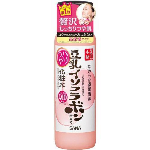 Sana Japan Nameraka Honpo Q10 Soy Milk Moisturizing Lotion Toner (200ml/6.7 Oz)