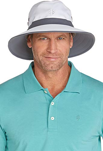 Coolibar UPF 50+ Unisex Matchplay Golf Hat - Sun Protective (Large/X-Large- ()