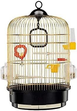 MYXMY La Jaula de pájaros de Gran tamaño del Loro del Acero ...