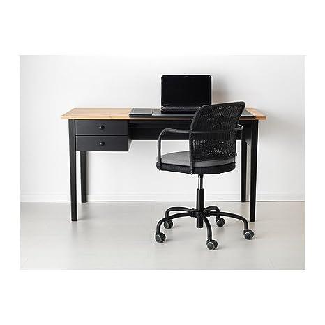 Ikea Arkelstorp - Escritorio, Negro - 140x70 cm: Amazon.es: Hogar