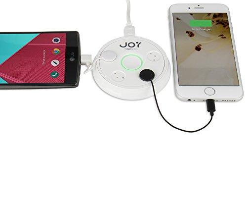 Joy Zip Mini Touch-N-Go Multi-Device Charging Station Hub...