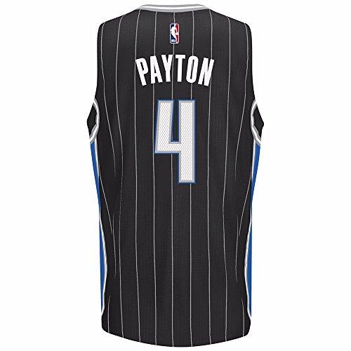 adidas Elfrid Payton Orlando Magic NBA Black Official Climacool Alternate Swingman Jersey for Men (3XL)