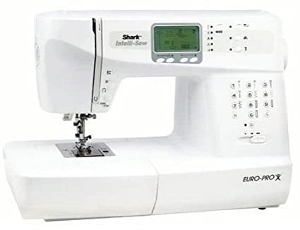 Amazon Shark EuroPro X IntelliSew Computerized Sewing Machine Gorgeous Euro Pro Denim And Silk Sewing Machine