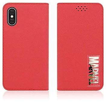 e0d786a953 Amazon | iPhone X・XSMAX・XS・XR・7・8・Plus Marvel Flip Diary ...