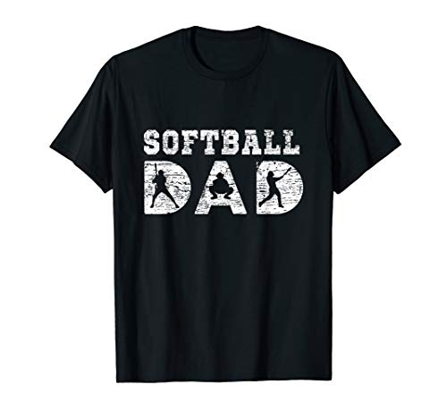 Classic Softball Dad T-shirt Sports Dad Father's Day Gift