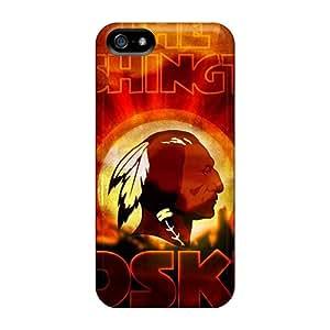 Defender Case For Iphone 5/5s, Washington Redskins Pattern