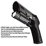 MCCC 500 Lumens LED Rail Mount Tactical Gun