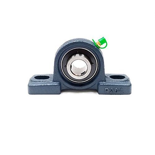 Bearing 3/4 Inch Blocks - Big Bearing UCP204-12 Pillow Block Bearing, 3/4