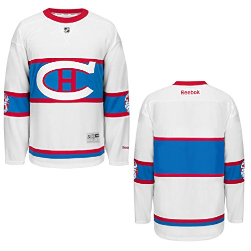 Reebok Montreal Canadiens White 2016 Winter Classic Premier Team Jersey (S)
