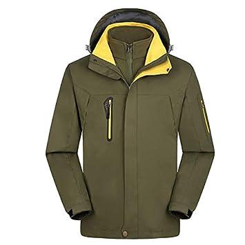 XYL HOME Couples Jackets_Winter Couples Chaquetas Outdoors Fleece de Dos Piezas a Prueba de Viento Waterproof