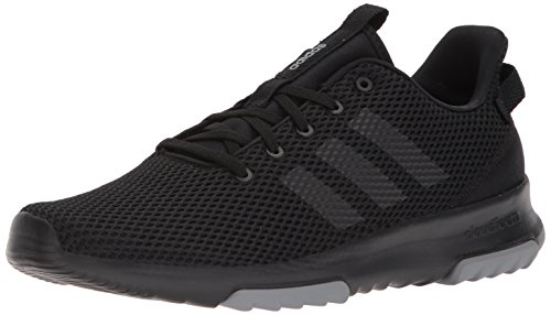 adidas Men's CF Racer TR Sneaker, Core Black, Core Black, Grey Three Fabric, 14 M US