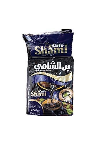 - Turkish Arabic coffee with extra cardamon, Alshami coffee, Ground roasted Turkish coffee (1.1 lb) (extra cardomon)