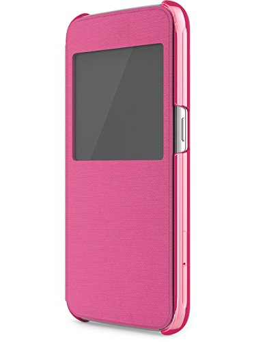 New Skech Slim View Lightweight Shock Absorbent Case for Samsung Galaxy S6 Pink