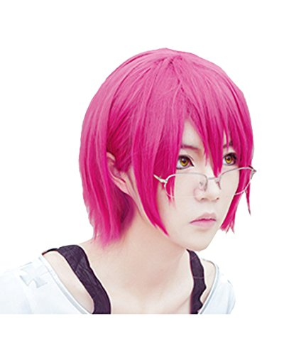 Gowther Cosplay Wig Xcoser The Seven Deadly Sins Main Character Pink Straight Hairs for Women