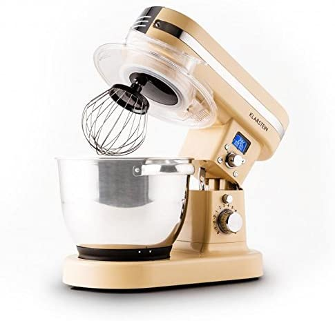 Klarstein 10027903 1200W 5.5L Crema de color - Robot de cocina (5 ...