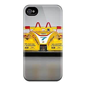 Durable Protector Cases Covers With 2008 Porsche Rs Spyder Front Hot Design Iphone 5/5S