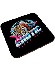 Joe Exotic 80s Retro Tijger Koning Coaster