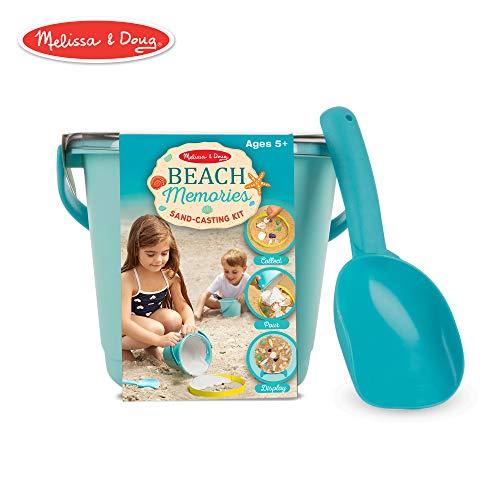 Melissa & Doug Beach Memories Sand Casting Kit Castle Sand Art Bottle
