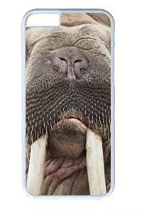 iPhone 6 Case, iPhone 6 Cases -Walrus Face PC case Cover for iPhone 6 and iPhone 6 White