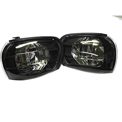Front Smoke Corner Light Lamp for SUBARU Impreza GC8 WRX STI 1997~2000: Automotive