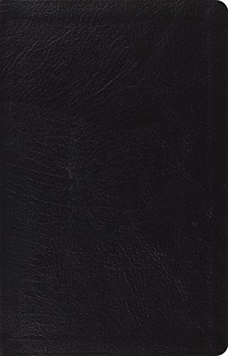 ESV Large Print Thinline Reference Bible (Black)