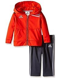 adidas - Sudadera con capucha y pantalones para niño