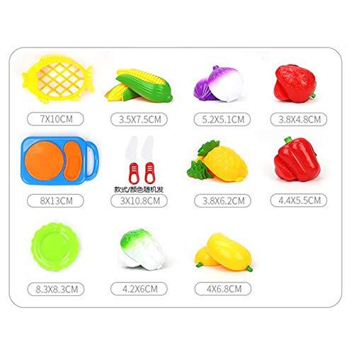Mackur Kinder K/üche Lebensmittel Abendessen Spielzeug-Set Obst Gem/üse f/ür Kinder Educational 1Set