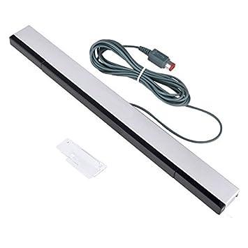 Kimilar - Barra de Repuesto para Nintendo Wii y Wii U (infrarroja, Compatible con