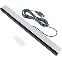 [Sponsored] Kimilar Wired Infrared IR Ray Motion Sensor Bar for Nintendo Wii and Wii U Console (Silver/Black)