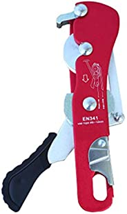 WOYA Rocky Climbing,Gear Rappelling,Descender Rescue Belay Devices for 8-13mm Rope