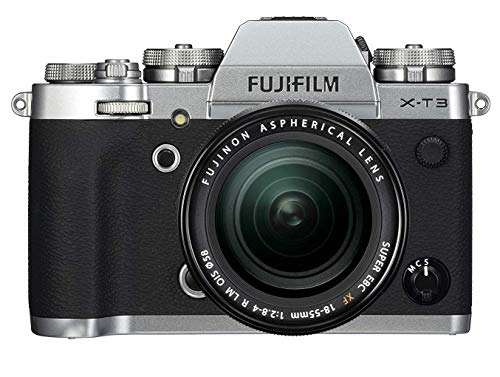Fujifilm X-T3 with XF18-55mm Lens Mirrorless Camera - Silver