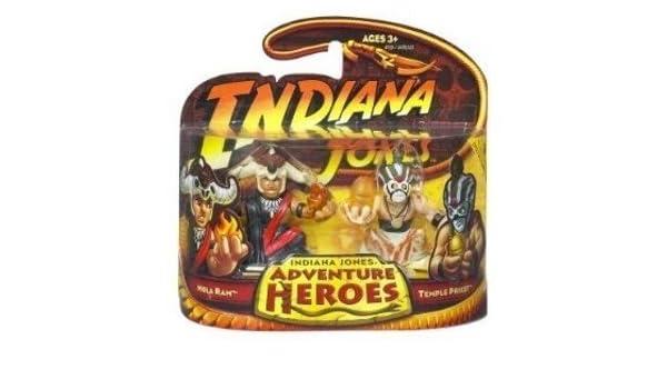 Indiana Jones Adventure Heroes Mola Ram & Temple Priest by Indiana Jones: Amazon.es: Juguetes y juegos