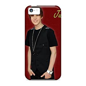 Fashionable Iphone 5c Case Cover For Celebrities Justin Bieber Peru October 2012 Protective Case