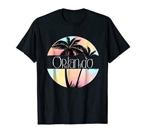 Orlando, Florida, FL - Souvenir Palm Trees T-Shirt (Orlando Fl)