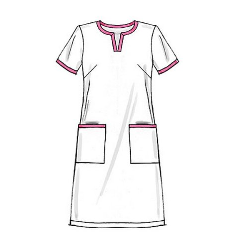 confezione da 1 Bianco vestito e pantaloni // Pullover McCall modelli M5895 Dimensione RR 18W-20W-22W-24W Misses delle donne