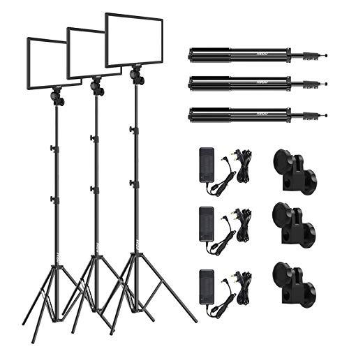 (LED Video Light & Stand Lighting Kit - 15.4